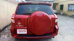 Super clean Toyota RAV4 2010 model with thumb start Lagos cleared