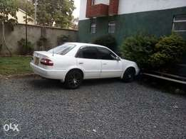 Clean car with nice music, new tyres,sports rims,