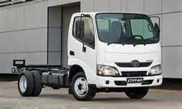 Toyota Dyna 150 **Only code 8 needed
