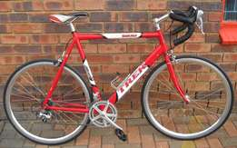 Trek road bike fully serviced with 62cm frame size.