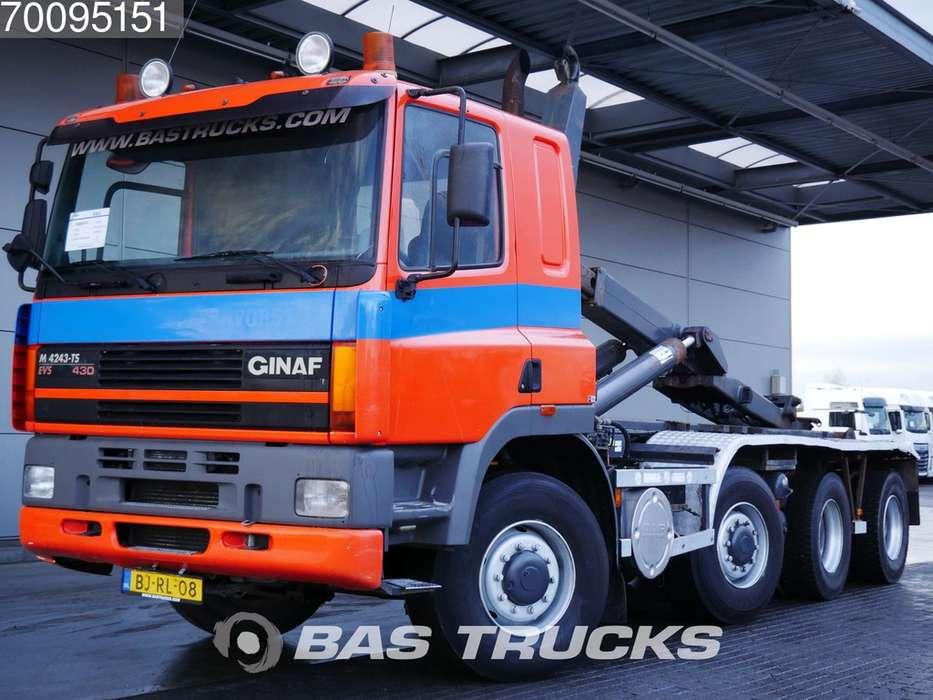 Ginaf M4243-TS 8X4 Manual Big-Axle Euro 2 30-ton VDL Hooklift - 2000