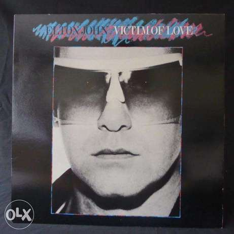 "elton john ""victim of love"" vinyl"