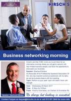 Hirsch's And The CCBC Business Networking Morning