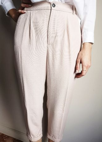 spodnie 100 lyocell zara