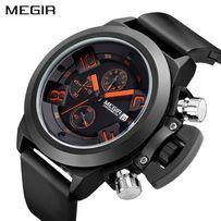 Часы наручные мужские MEGIR Screw black - надёжные и качественные! 40a8eba6ae46a