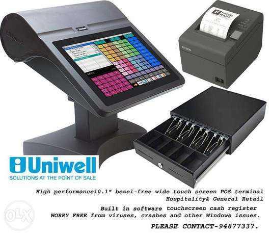 Uniwell Restaurant and Coffee shop cash register/تسجيل النقدية لمطعم و
