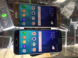 Over neat samsung galaxy s6 with warranty