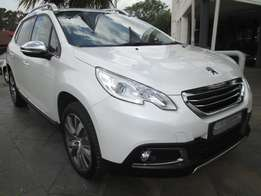 Peugeot 2008 1.6i Allure Manual, 1000km, White Colour