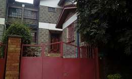 Strategically located 4 bedroom in Balozi estate with a dsq