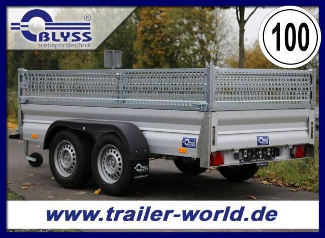 Blyss PKW Anhänger VOLLALU! 310x155x73cm 2500kg GG