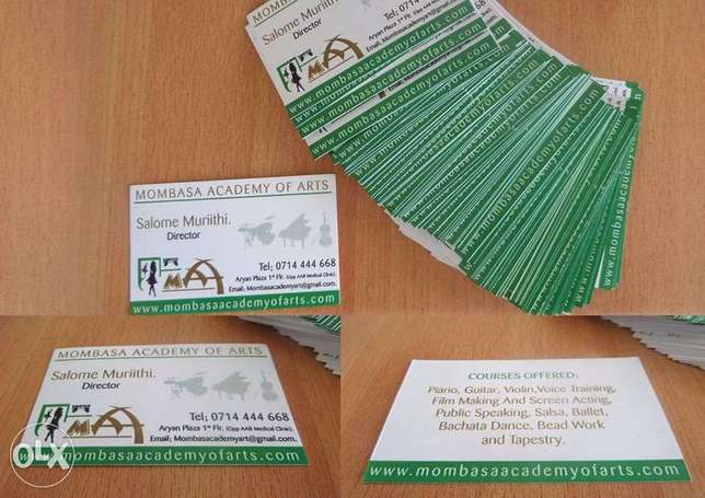Business cards and Graphic Design Mombasa Island - image 2