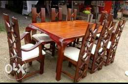 Eight seater dinning table