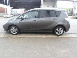 2010 model toyota verso 1.8 tx,grey,88 000km,for sale