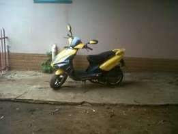 Scooter 150cc or Bike
