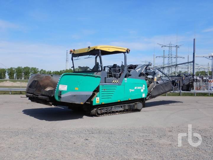 VOEGELE MT3000-2 OFFSET Crawler Asphalt Feeder - 2012