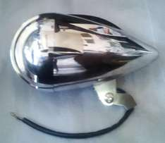 Motorcycle cafe racer headlights