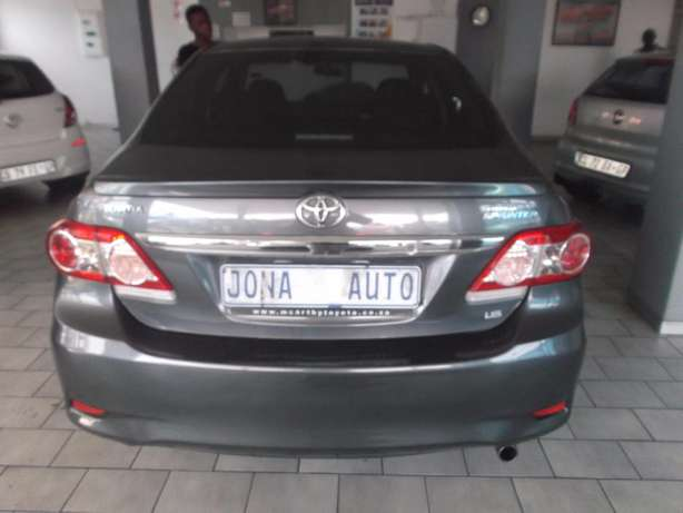 Pre Owned 2012 Toyota Corolla sprinter 1.6 Johannesburg - image 7