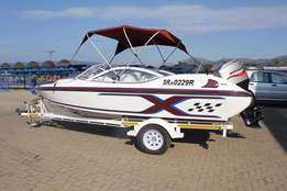 Raven Exel 18 Feet with 125 Hp Mariner