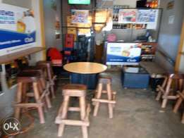 Bar on sale.on good will. It comes with dstv,CCTV camera,music system
