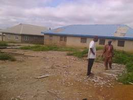 Bungalow Building on 3 Plots For Sale at Ayekale area, Osogbo