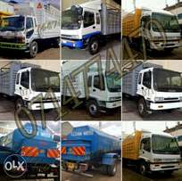 Isuzu trucks with brand new tyres and battery Quick sale not used loca
