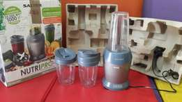 Nutri pro (Nutri Bullet blends all fruit juices?)
