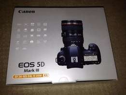 Amazing discount on Brand New Canon EOS 5D Mark III With EF 24 105mm