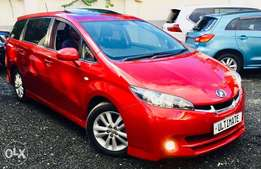 Toyota wish just arrived arrived at 1,350,000
