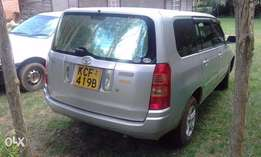 Toyota Succeed in Very Good Condition and rarely used as I work far