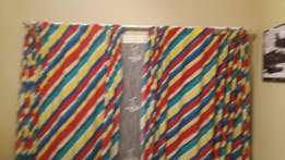 Colourfull kids curtains