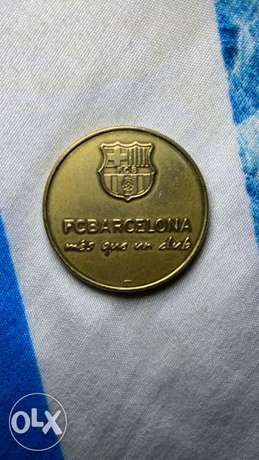 football barcelona messi coin