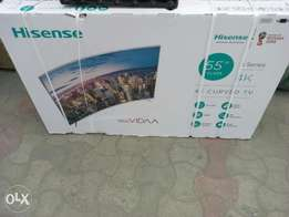 Hisense 55 inches curved
