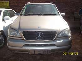 Mercedes Benz W163 ML270 CDI Pre Face For Sale