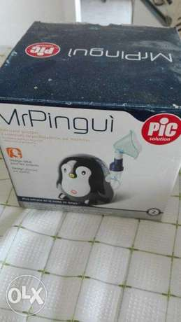 Chicco - Pic Pengui Nebulizer for kids - 2 masks - never used . new