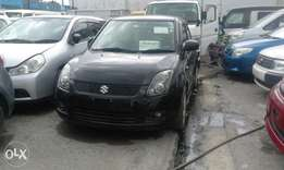 Suzuki swift half leather seats