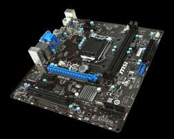 1150 MSI H81M-E35 mainboard for sale
