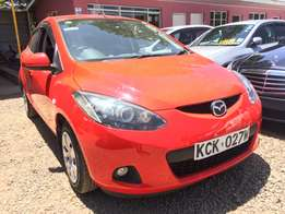 2010 model Mazda Demio with fog lights for sale