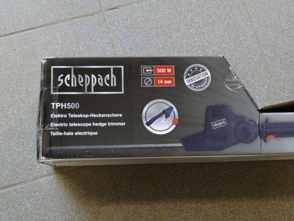 Sale scheppach tph500 hedge trimmer for  by auction