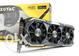 Zotac Gtx 1080 amp extreme new sealed