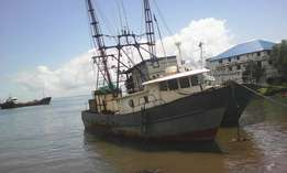 Functional Fishing Trawler for sale