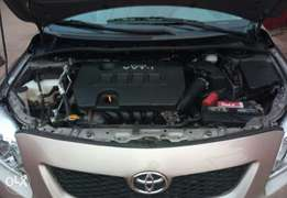 Tokunbo 2009 Toyota corolla With 66k Miles