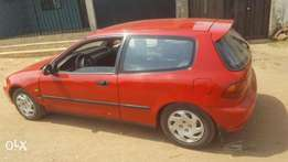 Honda Civic clean and sound for sale.