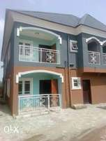 New Executive 2bedroom 450k.coker Estate Akowonjo.3toilet.2balcony.POP