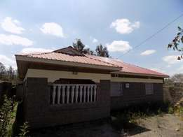 Matasia 3 Bedroom Bungalow For Sale.