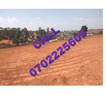 Overwhelming 50 by 100ft plot for sale in Kyaliwajjala town at 65m