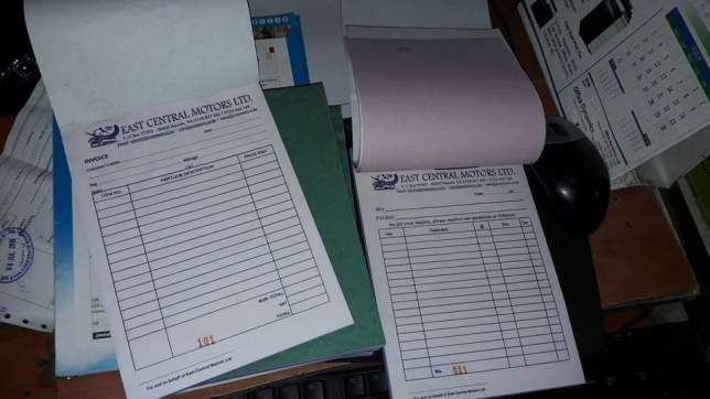quality receipt books (book),business cards,letter heads,Printing Nairobi CBD - image 4