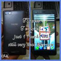 Tecno w3 a month old