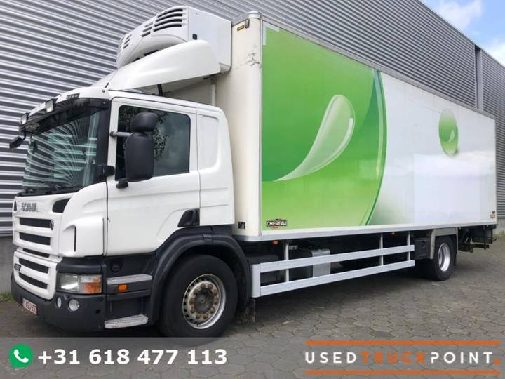 Scania P360 / Chereau / Thermoking TS-500e / Euro 5 / Tail Lift / - 2011
