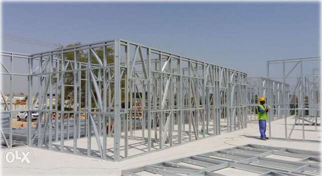 Light Gauge Steel (LGS) Framing Structure