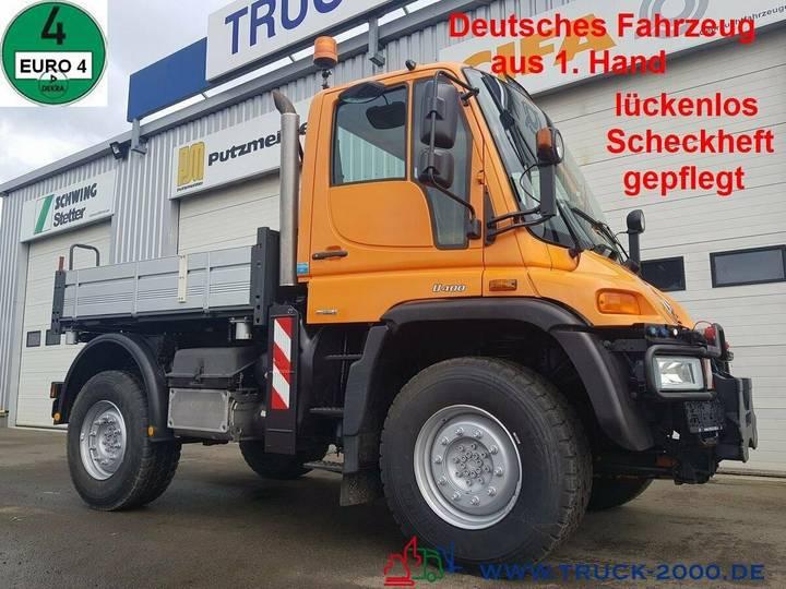 Unimog U 400 4x4 3 S. Wechsellenkung 1.Hand Scheckheft - 2008